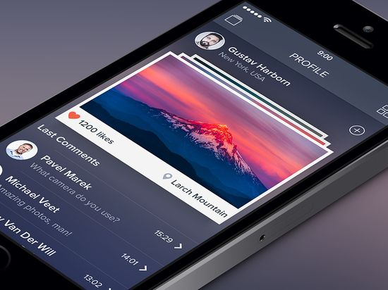 Photo App [Photographer Profile Screen]