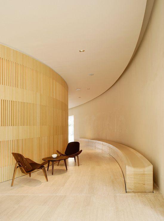 Hotel Puerta América, Madrid :: Reception designed by John Pawson