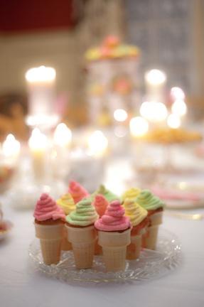 cupcake cones!!