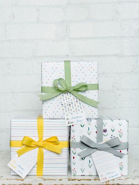 Multicolor Gift Wrap