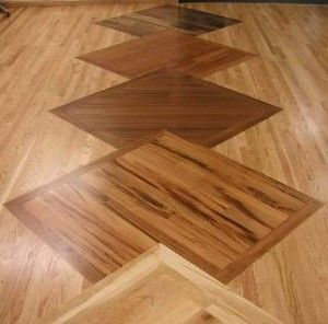 Hardwood floor design