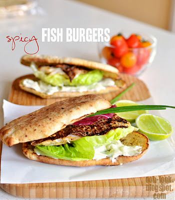Ooh, Look...: Spicy fish burgers - tribute to the filet de fish
