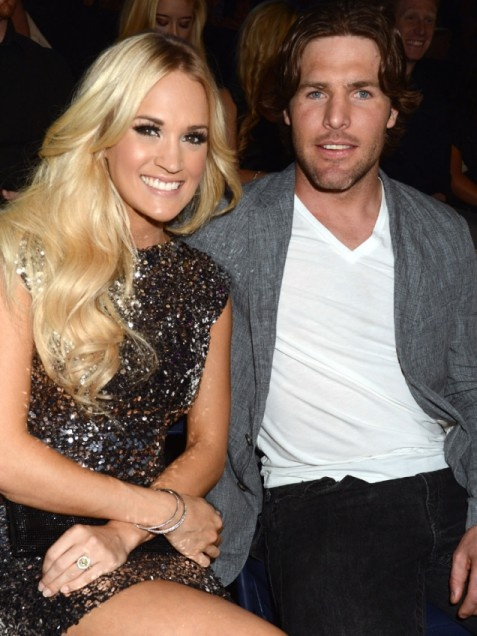 Carrie Underwood and hubby Mike Fisher
