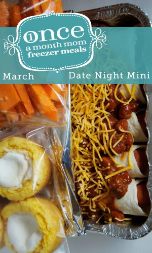 Date Night Mini Menu March 2013