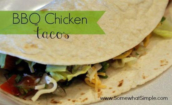 Delicious BBQ Chicken Tacos