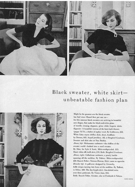 June Vogue 1956 by Karen Radkai