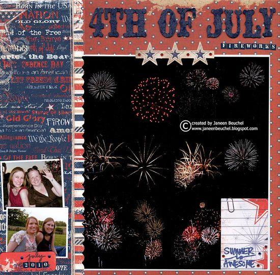 4th of July - Scrapbook.com