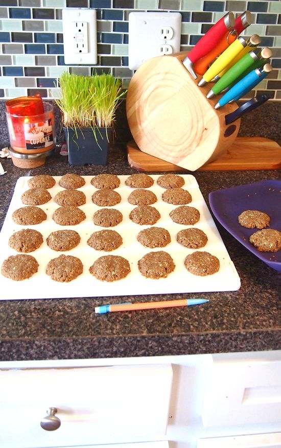 85 Calorie Paleo Almond Butter Cookies with Only 3 Grams of Carbs!
