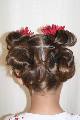 Girl's hairstyle ideas