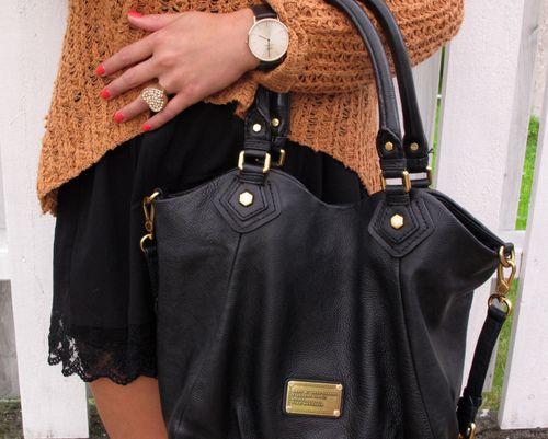 Marc by Marc Jacobs Classic Q Fran Handbag