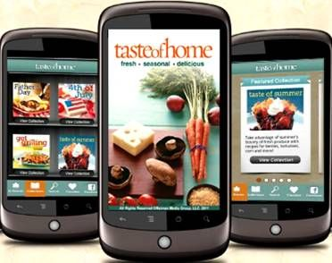 FREE Taste of Home App! {iPhone