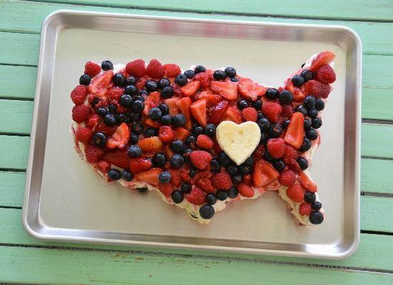 4th of July United States Fruit Cake