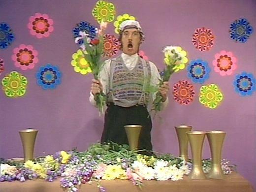 Mr. Gumby Flower Arranging