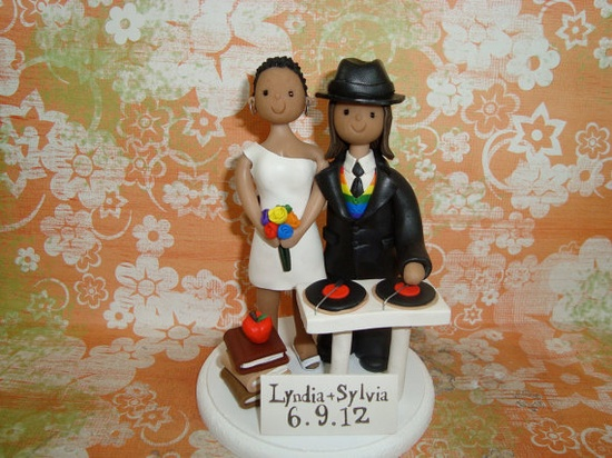Wedding Cake Topper - Perfect for us!