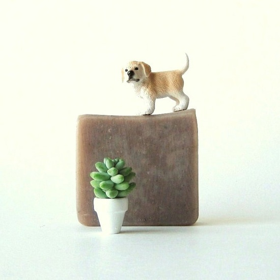 cute soap photos (love that lil plant too) (c) Prunella Soap on etsy