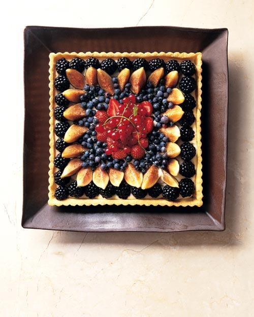 Summer Fruit Tart Recipe