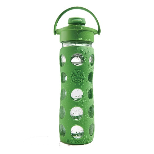 Green your workout gear! This BPA-free glass bottle is reusable. Where to buy it: www.womenshealthm...