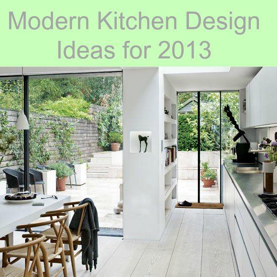 Modern Kitchen Design Ideas for 2013