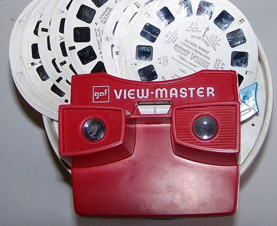 Did you have a View Master?
