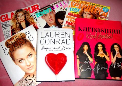 I love Lauren Conrad books.