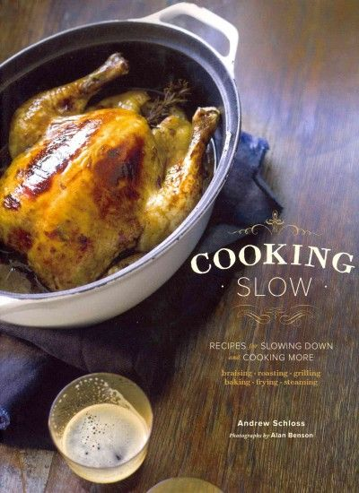 This tantalizing book celebrates the art of cooking slowly with time-honored methods that yield tender, delicious meals with little hands-on cooking time. More than 80 recipes cover everything from slow-simmered soups and stews to hearty braised meats and a lemon cheesecake that cures to a creamy custard in a warm oven overnight.