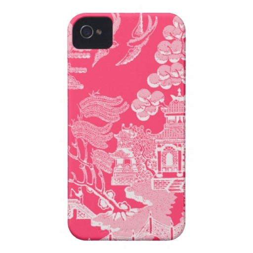 Willow pattern iphone covers