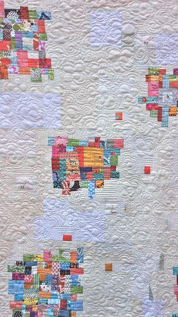 beautiful quilt by Rachel @ 2nd Avenue Studio, via Flickr
