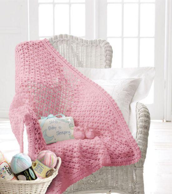 #Baby blanket & booties project #crochet