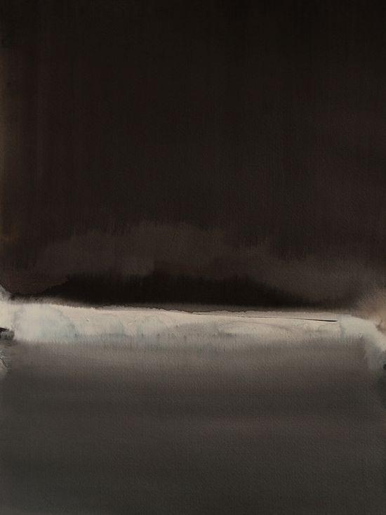 "Koen Lybaert; Watercolor 2013 Painting ""Ohaupo"""