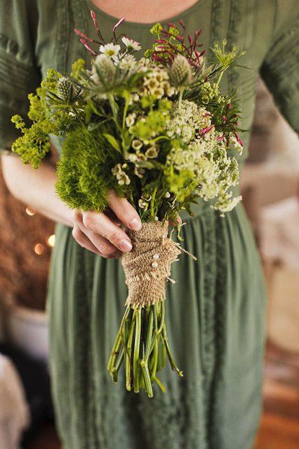 pretty flowers & wrap