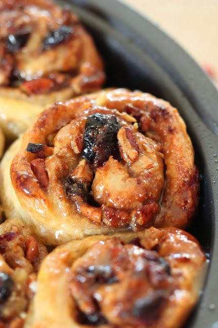 Tortillas and Honey: Apple Cranberry and Pecan Sticky Buns