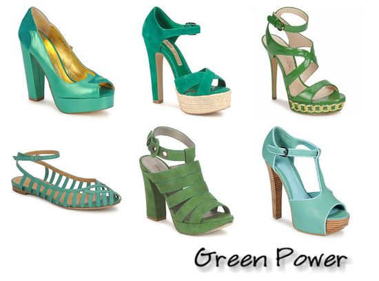 Green Power Shoes