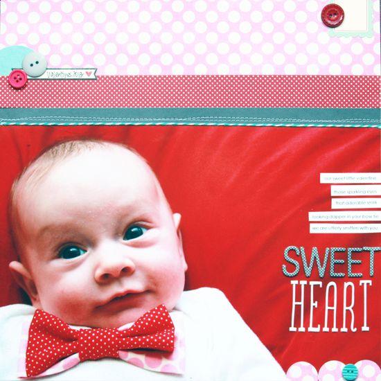 Sweet Heart - Scrapbook.com