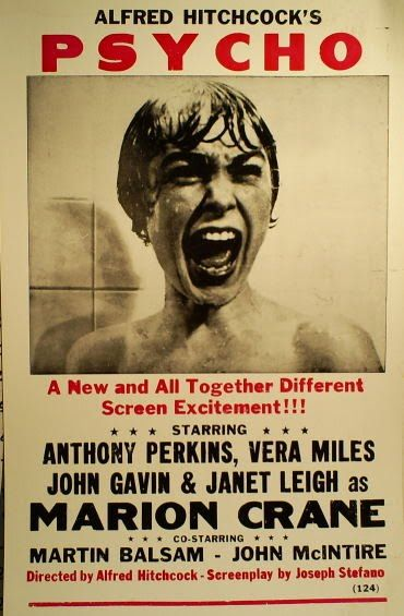Psycho ...Love these old posters.