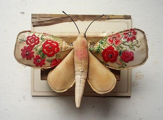 moth stitchery~wow