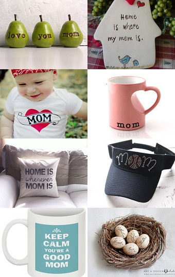 Handmade gifts for mom on Etsy