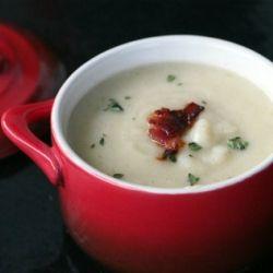 Creamy Cauliflower Soup #healthy #recipe