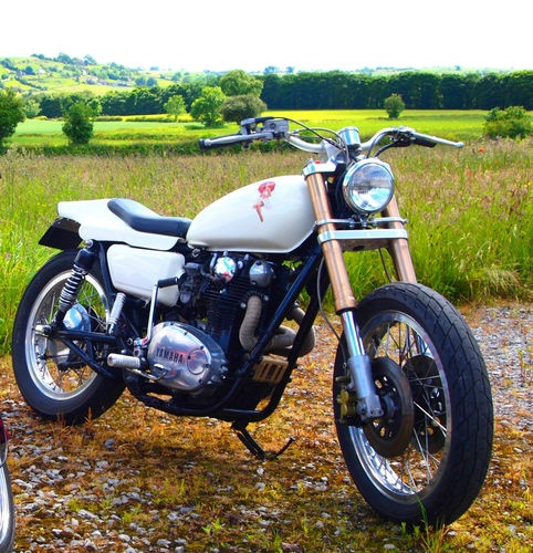 Custom Motor Bike! Pin Up