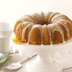 Pumpkin-Citrus Bundt Cake