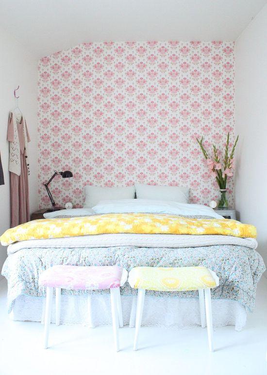 Pretty Pastel Style Bedroom