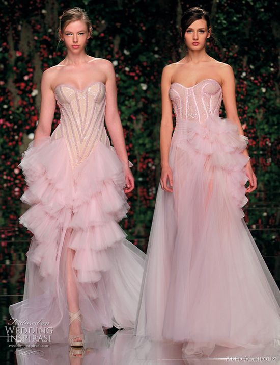 Abed Mahfouz Spring 2011 Couture Dresses