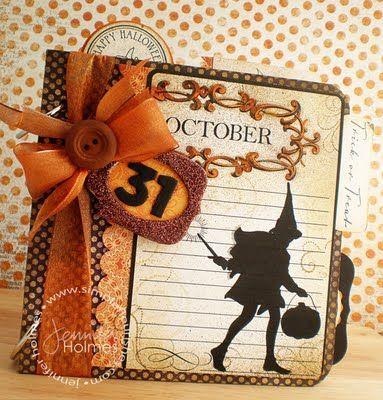 Halloween Card; love this!!!!!!