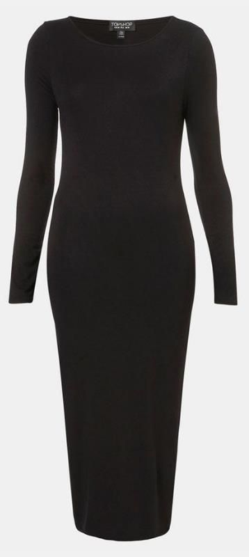 Flattering! Topshop Body-Con Midi Dress