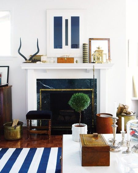 pretty classic but modern living space