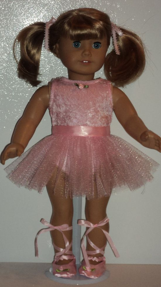 American Girl Doll Clothes  Ballerina by susiestitchit on Etsy, $18.00