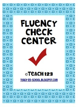 From TEACH123 - FREE  Reading fluency is such an important part of reading. Yet it's hard to find time in a busy schedule to devote to fluency activities. This is a center that two students can work together to improve their fluency skills.