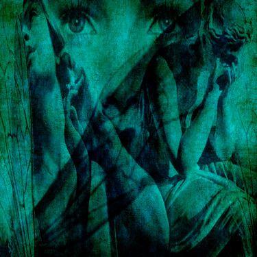 "Saatchi Online Artist Patrick Burke; Painting, ""widow wing"" #art"