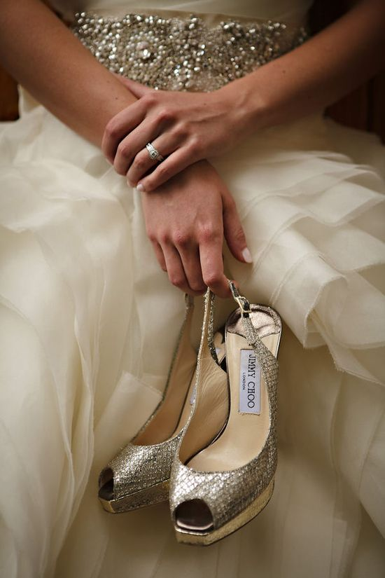 Love the Jimmy Choos (and that Vera belt!)