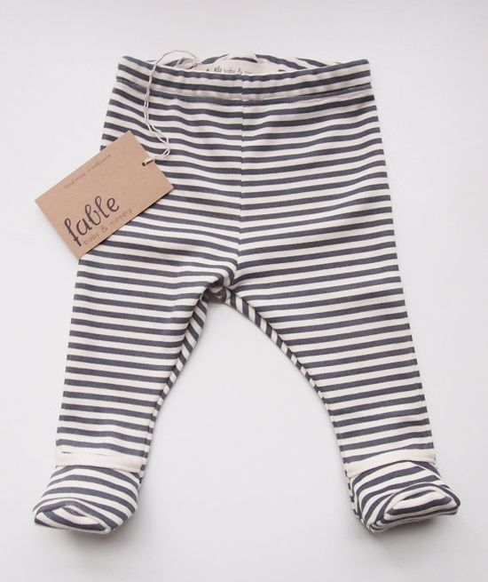 Unisex Baby Leggings with Booties.