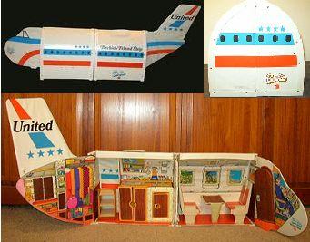 1970's Barbie plane